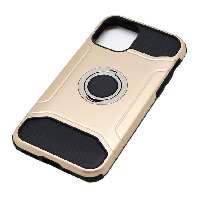 iPhone 11 Pro用 5.8インチ ジャケット リング付き 耐衝撃